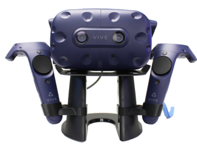 VIVE Pro - Headset and contollers stand